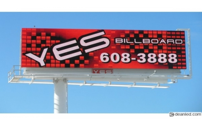 LED Screen Billiard Out-of-home